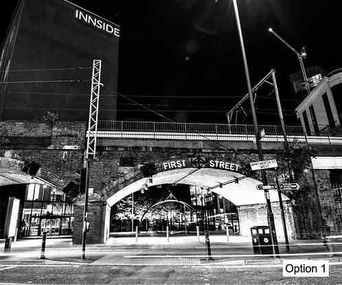 Manchester First Street (9 options)