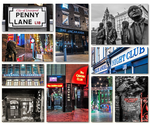 Liverpool Beatle Montage