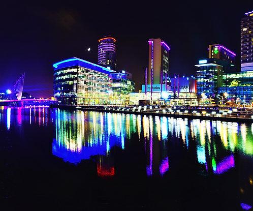 Salford Quays BBC Media City