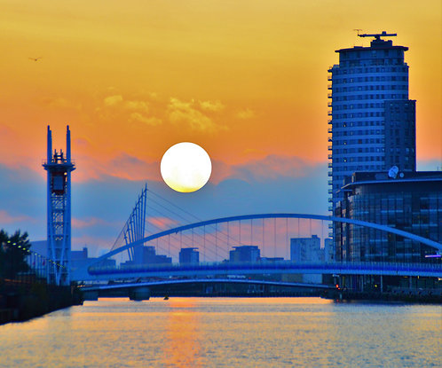 Salford Sunset on the Quays
