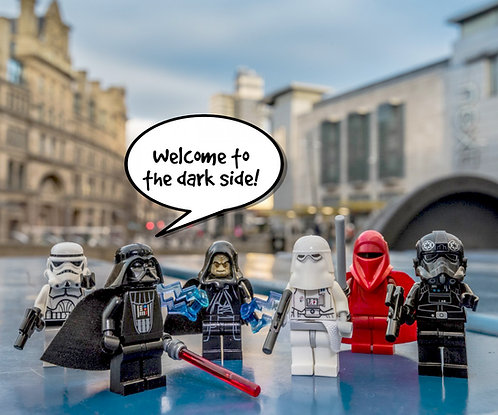 The Empire Star Wars - Manchester (Lego Minifigures)