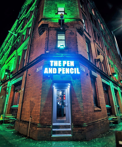 The Pen & Pencil Bar (Northern Quarter Manchester)