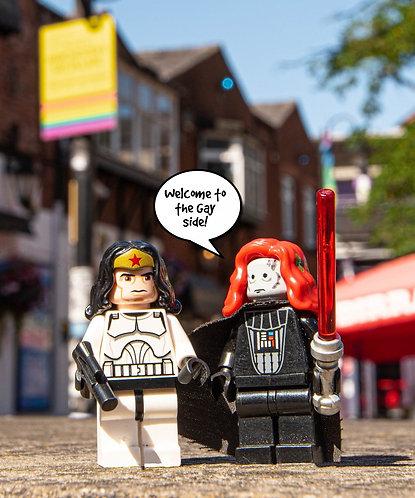 Darth Vader & Storm Trooper Star Wars 1 - Manchester (Lego Minifigures)