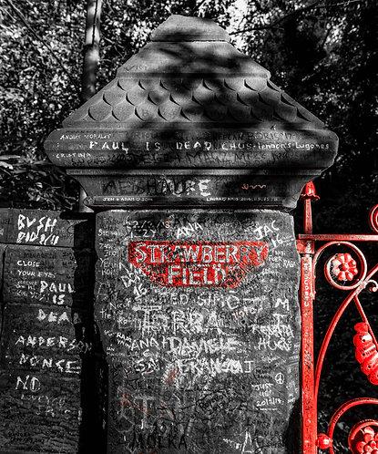 Liverpool Beatles Strawberry Fields