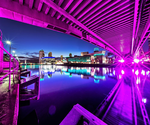 Salford Quays, Lowry & BBC Media City