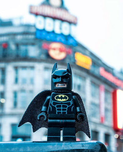 Manchester Batman (Lego Minifigures)