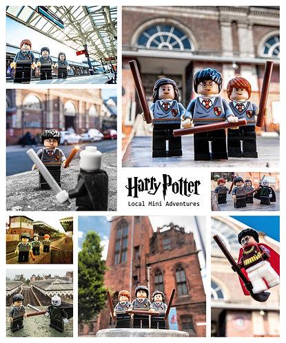Harry Potter Montage - Manchester & Altrincham (Lego Minifigures)