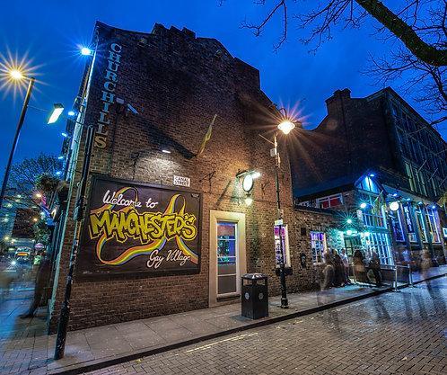 Churchills Pub (Canal Street Manchester)