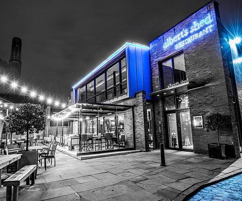 Alberts Shed Venue (Castlefield Manchester)