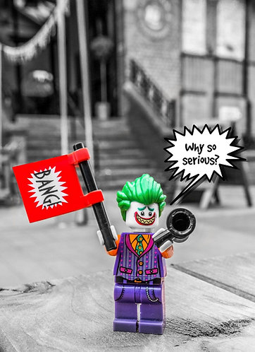 The Joker - Altrincham (Lego Minifigures)
