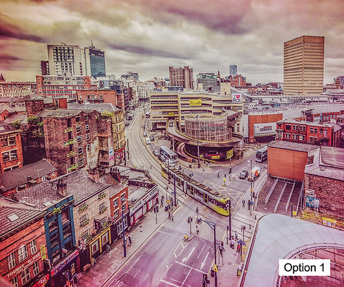 Manchester Skyline Daytime (6 options)