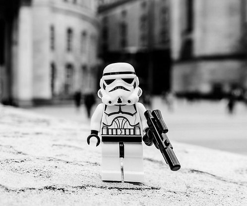 Storm Trooper Star Wars  - Manchester (Lego Minifigures)