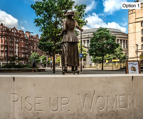 Manchester Rise up Women Statue (2 options)