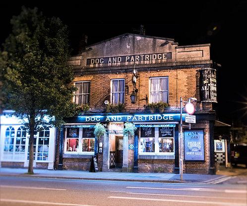 Dog & Partridge Pub (Didsbury Manchester)