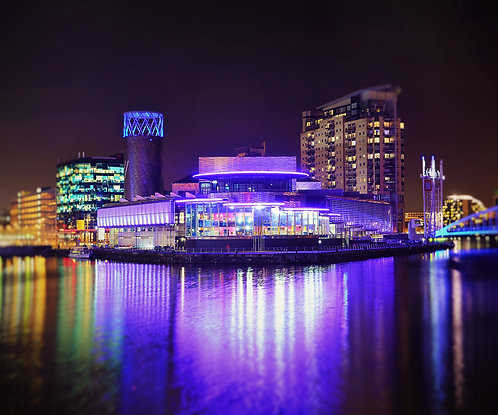 Salford Quays The Lowry
