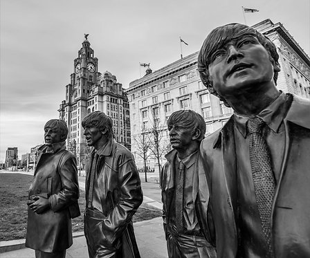 Liverpool Beatles Statue
