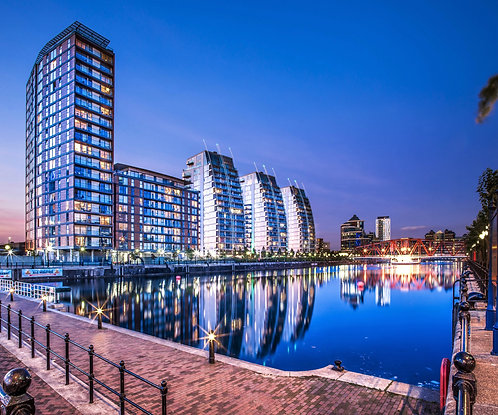 Salford Quays The NV Buildings