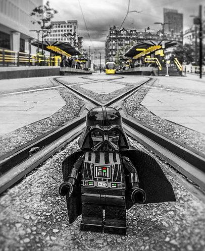 Darth Vader Star Wars 1 - Love Manchester (Lego Minifigures)