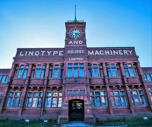 Altrincham Linotype Machinery