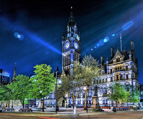 Manchester Town Hall (9 options)