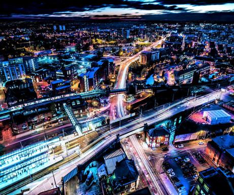Manchester Skyline Nights