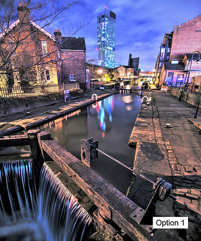 Manchester Castlefield (12 options)