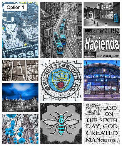 Manchester City Football (8 options)