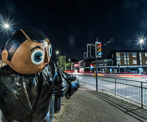 Manchester Timperley Frank Sidebottom Statue