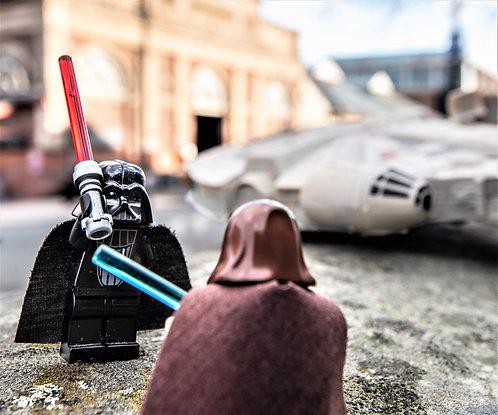 Darth Vader & Obi-Wan Kenobi Star Wars - Altrincham (Lego Minifigures)