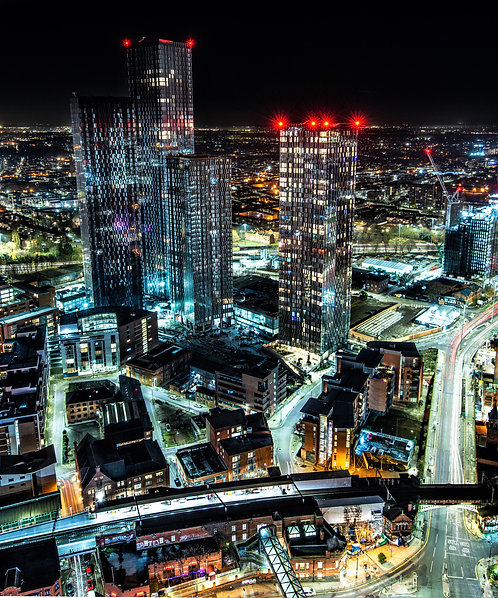 Manchester Skyline Nights 2