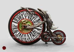 スカラベの自転車