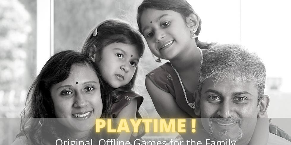 PLAYTIME! Original, Offline Games for the Family