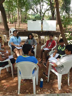 Group Discussion Al Fresco
