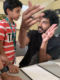 Students, Animated Mentor, Concentration