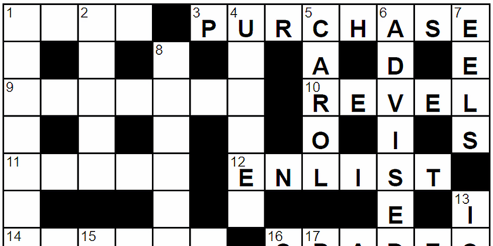 Learn to Solve Crossword Puzzles!