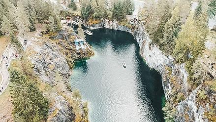 горный парк рускеалы дайвинг