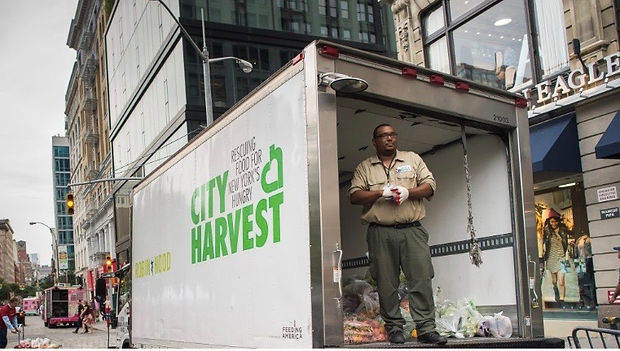 An image of a City Harvest truck
