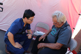 Eastern Medical Center, Eastern Medical Center Project, Day Of Outreach, Acupuncture, Active Release Technique, Acupressure