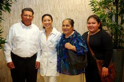 Jose Hurtado and family