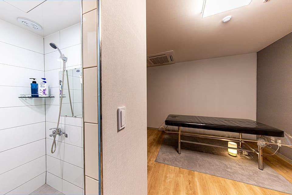 위례 창곡동 스웨디시예스 샤워실