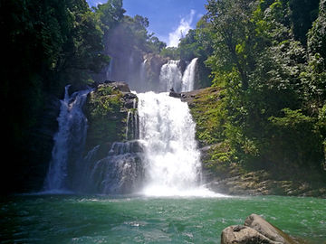 Nauyacu Waterfall Costa rica jungle Ayah