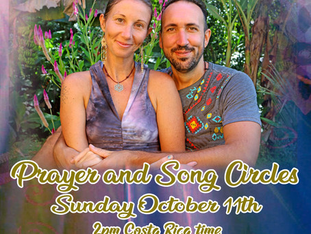 This Sunday October 11th - Tree of Light Medicine Family - Prayer and Song Circles via Zoom