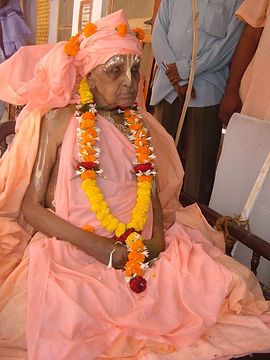 Srila Bishnu Maharaja's guru's samadhi