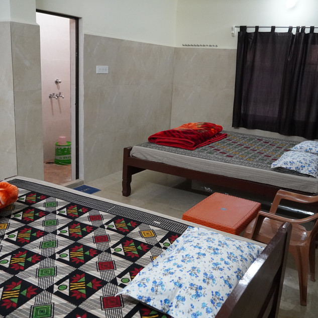 Most rooms have attached bathrooms and Indo/Western style toilets.