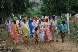 IKCM pilgrimage group