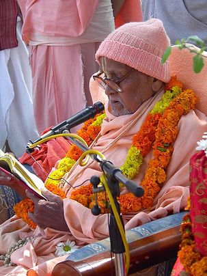 Srila Puri Maharaja, the guru of Srila Bishnu Maharaja.