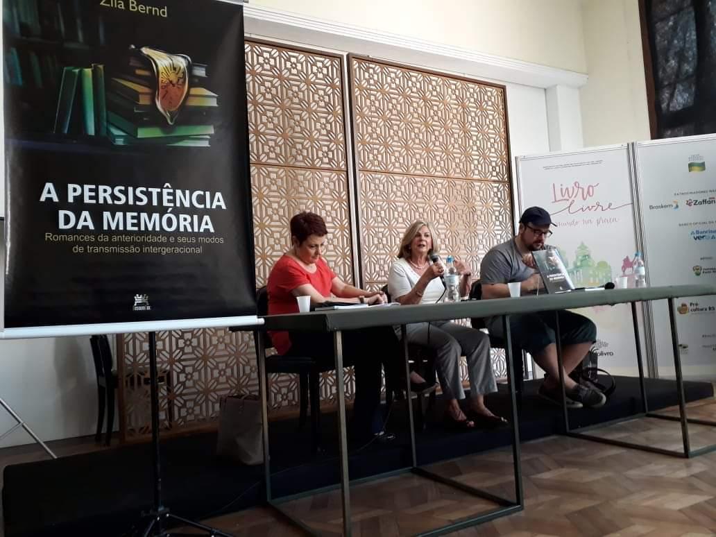 Com Jane Tutikian e Pedro Gonzaga