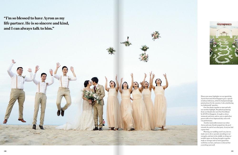 Ayron & Tania Wedding Dance - Her World Brides Feature