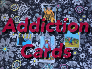 Addiction Cards in the Tarot Deck