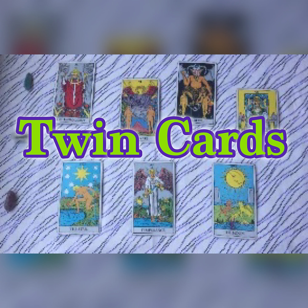 Twin Cards in the Major Arcana